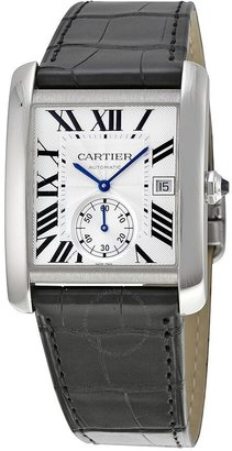 Cartier Tank MC Automatic Silver Dial Men's Watch