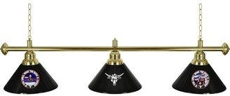 WWE Trademark Global The Rock 60 in. Three Shade Hanging Billiard Lamp