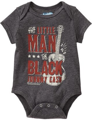 "Old Navy Johnny Cash© ""The Little Man in Black"" Bodysuits for Baby"