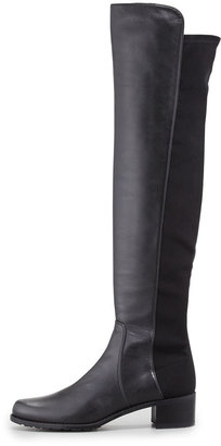 Stuart Weitzman Reserve Napa Stretch Over-the-Knee Boot, Black