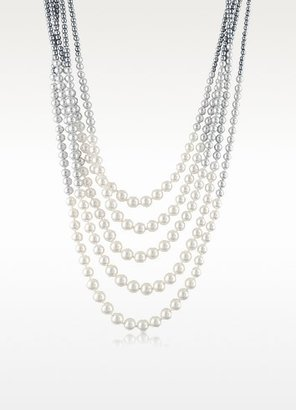 A-Z Collection Multi-Strand Long Bead Necklace