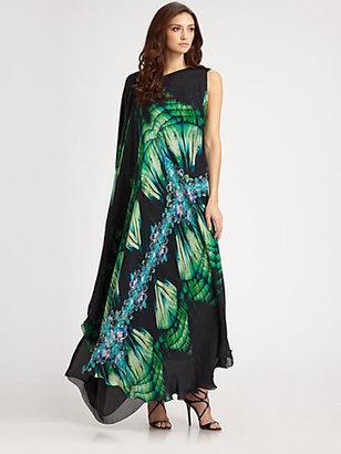 Roberto Cavalli Silk Gown