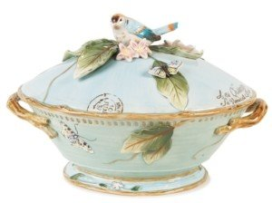 Fitz & Floyd Dinnerware, Toulouse Tureen with Ladle