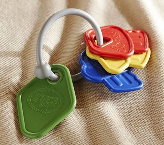 Green Toys Key Ring Rattle