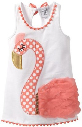 Mud Pie Baby-Girls Newborn Flamingo C...
