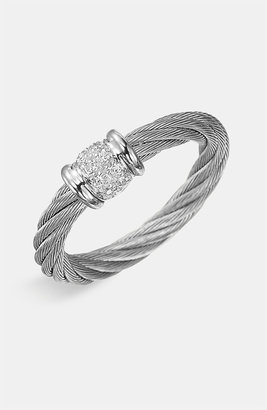 Charriol 'Classique' Small Diamond Stackable Ring