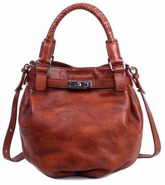 Old Trend Leather Pumpkin Bucket Bag