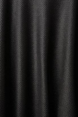 Topshop Black Waffle Full Midi Skirt