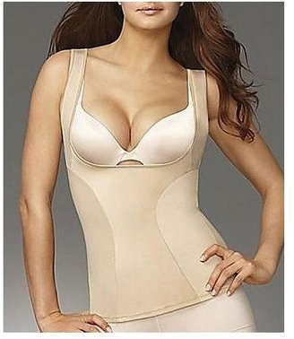 Flexees Firm Control Wear Your Own Bra Slimming Tank Top Shapewear