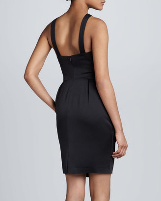 French Connection Nico Cross-Neck Dress