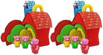 Melissa & Doug 3 Little Pigs 2 pack