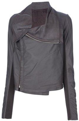 Rick Owens zipped leather jacket