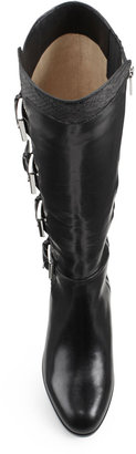 Michael Kors Tamara Mixed-Leather Boot