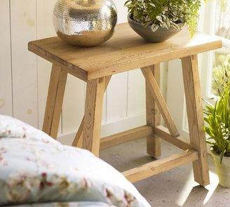 Pottery Barn Sawyer Trestle Bedside Table