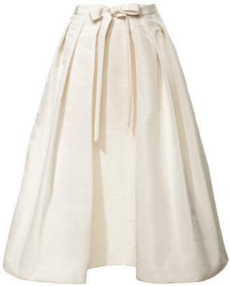 Tibi Preorder Silk Faille Skirt