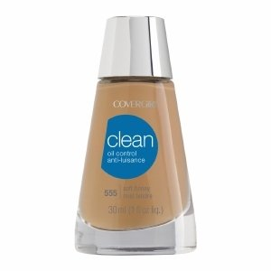 Cover Girl Clean Oil Control Liquid Makeup, Soft Honey 555