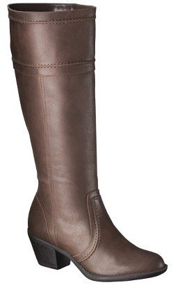 Mossimo Women's Kerryl Tall Boot - Brown