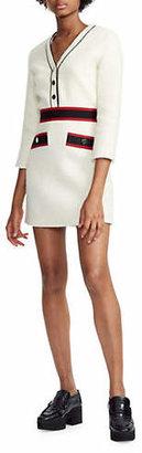 Maje Rosine Short Tweed Dress