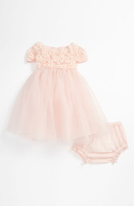 Biscotti 'Blushing Rose' Dress (Baby)