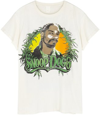 MadeWorn Snoop Dogg Printed Cotton T-shirt