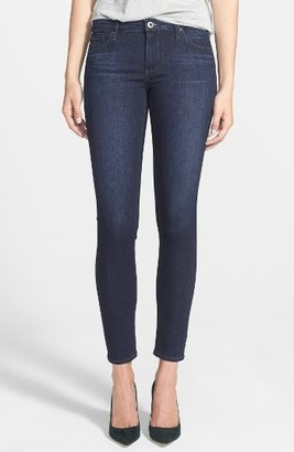 Women's Ag Ankle Super Skinny Jeans $168 thestylecure.com