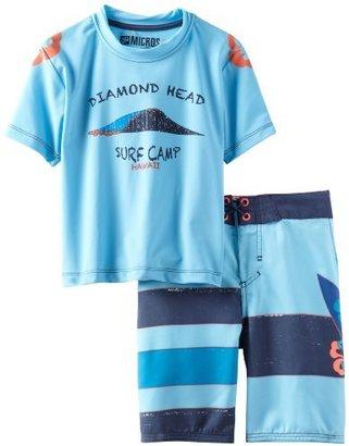 Micros Little Boys' Diamond Head Kid's Swim Set