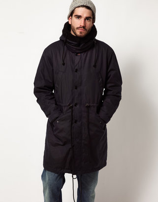 Nudie Jeans Pollux Waxed Parka