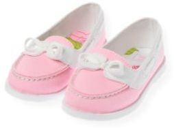Janie and Jack Canvas Boat Shoe