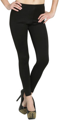 Arden B Leather Looking Ankle Legging