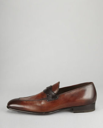 Tom Ford Adney Twist-Strap Loafer