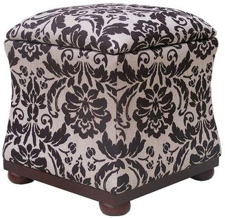 Sonoma life + style ® hayes queen print hourglass storage ottoman