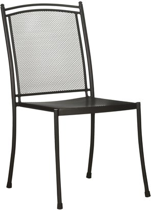 John Lewis & Partners Henley by KETTLER Straight Side Garden Chair, Grey
