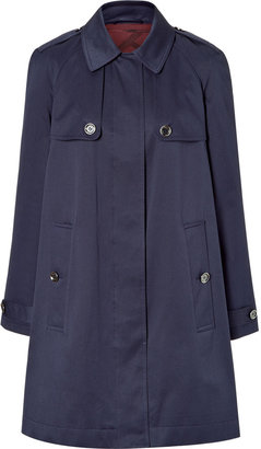 Burberry True Navy Hindmarch Coat