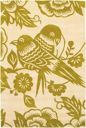 Thomas Paul Love Birds Wool Pile Rug