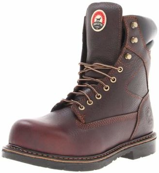 "Irish Setter Men's 83824 8"" Steel Toe Work Boot"