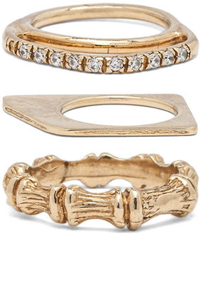 Iosselliani Set of 7 Rings in Gold