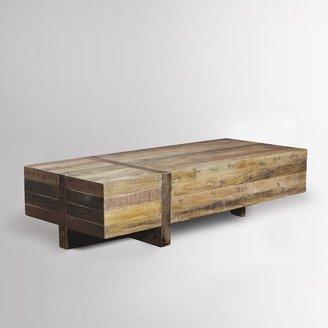 west elm Emmerson® Reclaimed Wood Block Coffee Table