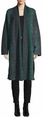 Eileen Fisher Merino Wool Kimono Coat
