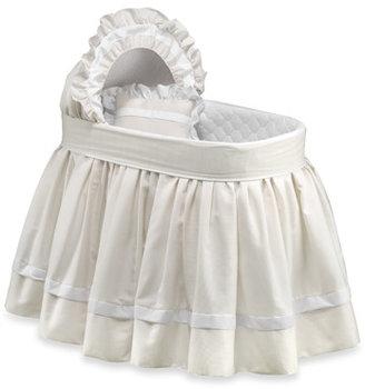Bed Bath & Beyond Ecru Pique Bassinet Bedding Set by Babydoll