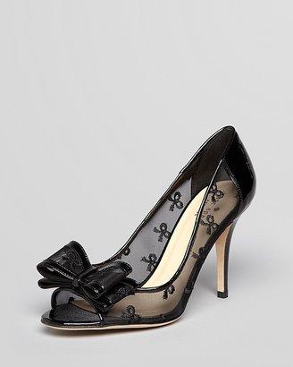 Kate Spade Peep Toe Pumps - Calina High Heel