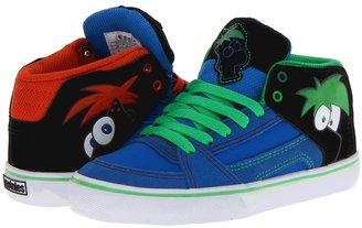 Etnies Disney RVM Vulc (Toddler/Little Kid/Big Kid) (Black/Blue/White) - Footwear