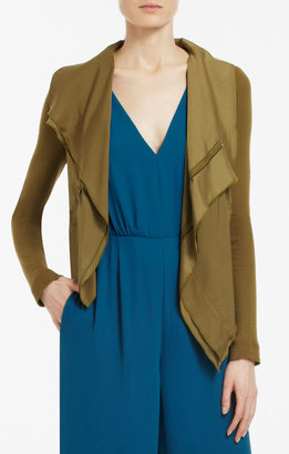 BCBGMAXAZRIA Ana Raw-Edge Jacket