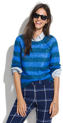 Madewell Striped mohair sweater