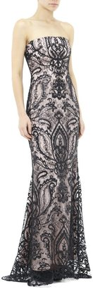 Nicole Miller Americano Gown