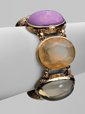 Stephen Dweck Semi-Precious Multi-Stone Collector's Bracelet