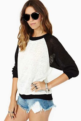 Nasty Gal Home Base Knit