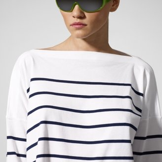 Ralph Lauren RLX Striped Jersey Boatneck Tee