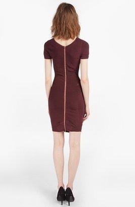 Maje 'Datcha' Open Inset Knit Dress