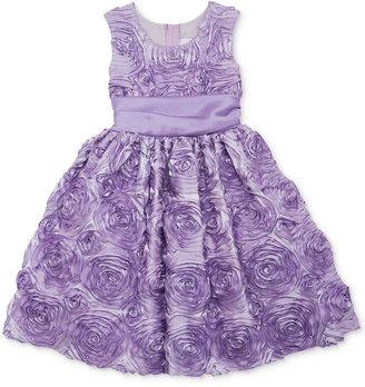 Rare Editions Little Girls' Soutache Dress