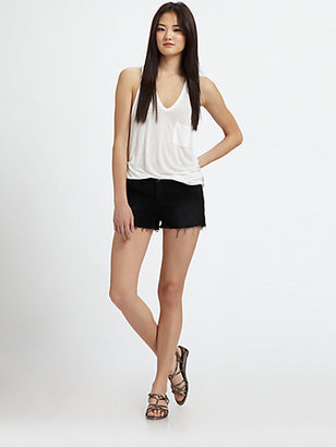 J Brand 1046 Low-Rise Cut-Off Shorts